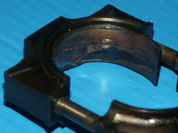 Connecting Rod Bearing Failure further Rod Bearing Failure furthermore Connecting Rod Bearing Failure additionally Quick Fix Rod Knock as well Connecting Rod Bearing. on bad connecting rod